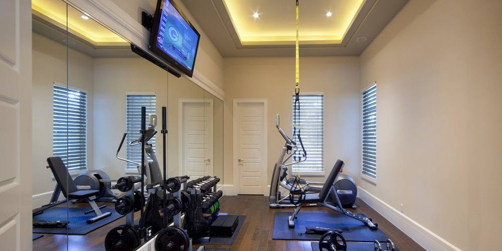 Pump Up Your Home With A Gym Home Gym Ideas